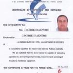 FUJIKURA Certificate